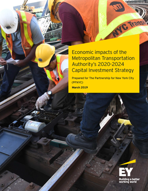 Economic Impact of the MTA Capital Plan report cover